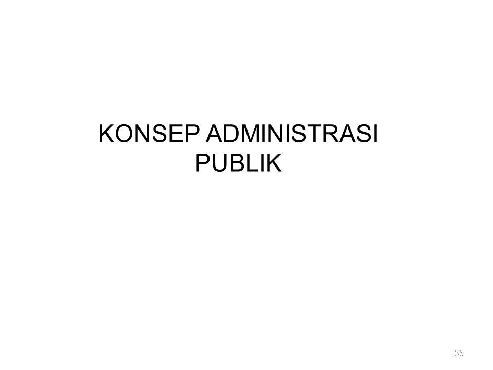 KONSEP ADMINISTRASI PUBLIK 35