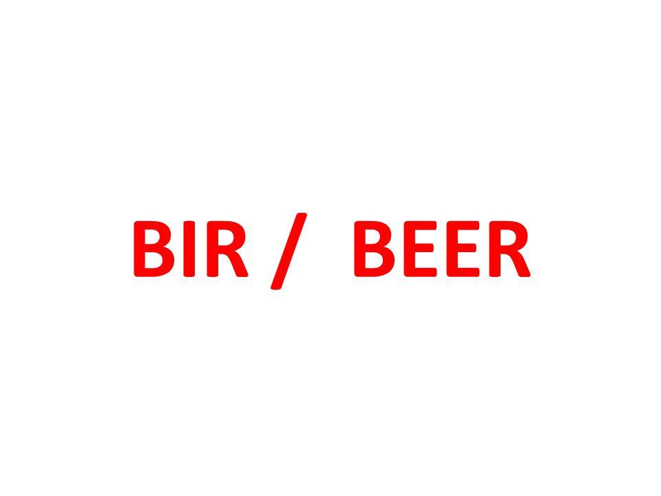BIR / BEER