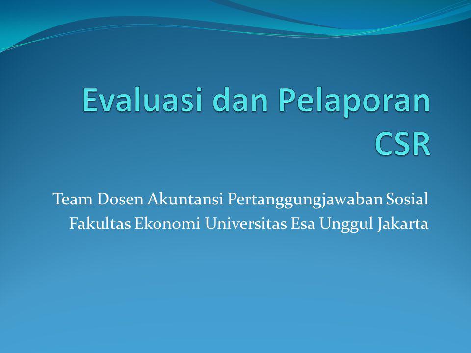 Team Dosen Akuntansi Pertanggungjawaban Sosial Fakultas Ekonomi Universitas Esa Unggul Jakarta