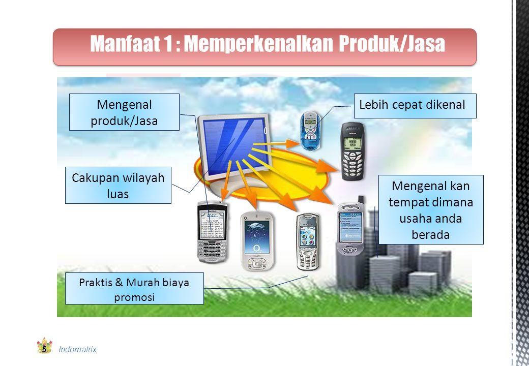 Manfaat 2 : Data Base untuk Klien & SMS Blasting Note: Klien bahkan dapat terus mempromosikan kapan pun dimana pun kepada konsumen secara kontinyu.