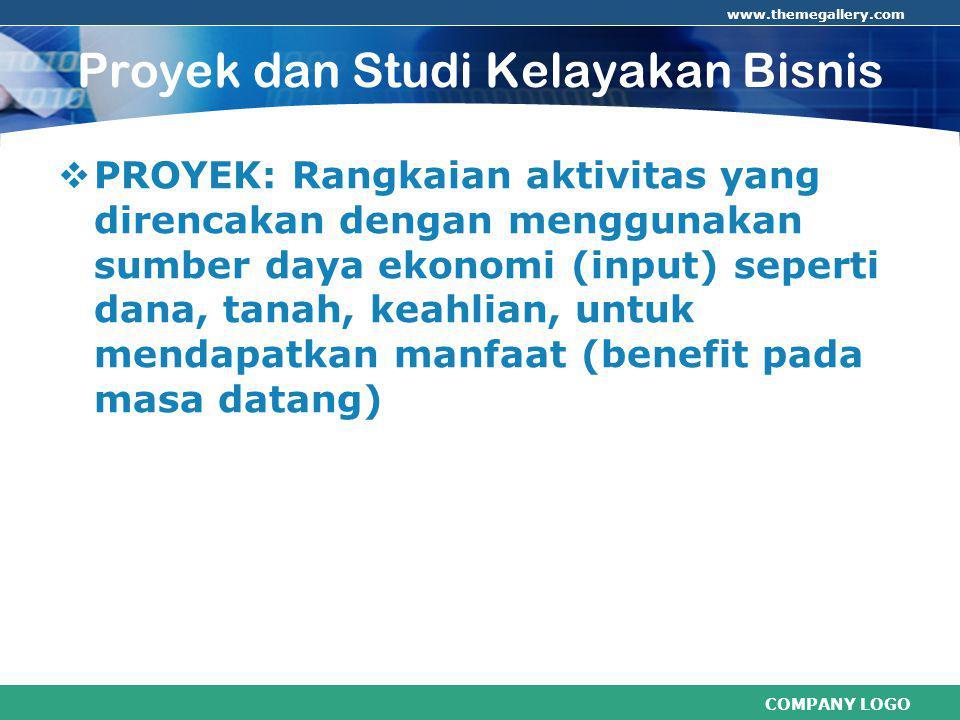 COMPANY LOGO www.themegallery.com Perbedaan Analisis NOKETFINANSIALEKONOMIS 1.Harga- Market price- Shadow price (op.