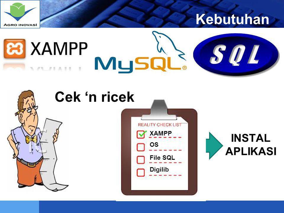 LOGO INSTALL XAMPP 12 Buka Windows EksplorerBuka Flashdisk