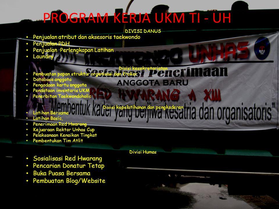 Nama – nama yang pernah menjadi ketua UKM TI - UH 1.Alm.