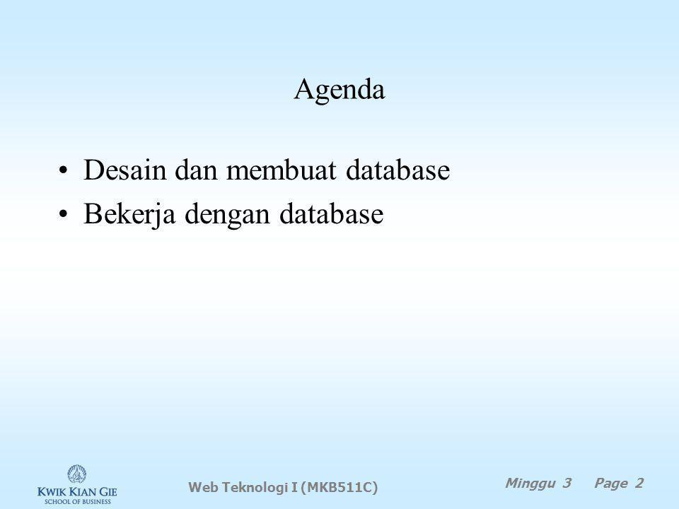 Mendeploy model database … (lanjutan) 4.Buka tab EERDiagram 5.Deploy database Database -> Forward Engineer… 6.Kemudian klik Next 7.Pilih opsi yang diperlukan, lalu klik Next 8.Pilih objek yang akan di deploy ke server, lalu klik next 9.Akan tampil script SQL yang akan di jalankan di server, bila sudah ok, klik Next.