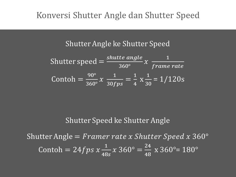 Global Shutter VS Rolling Shutter Global Shutter adalah cara kerja sensor dimana sensor merekam sebuah frame secara menyeluruh pada waktu yang sama.
