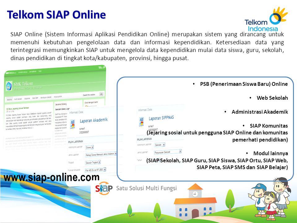 SIAP Online (Sistem Informasi Aplikasi Pendidikan Online) merupakan sistem yang dirancang untuk memenuhi kebutuhan pengelolaan data dan informasi kepe
