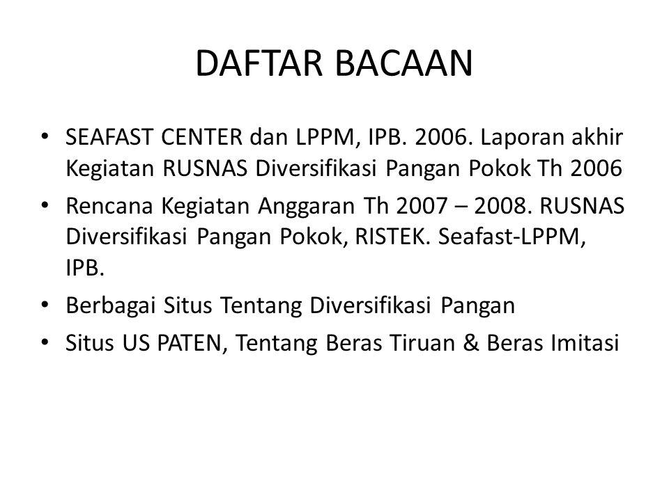 """Semoga Seminar dan Festival Pangan """" independent Food"""" Bermanfaat"""