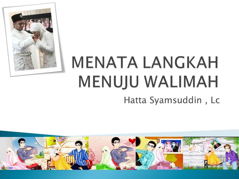 Hatta Syamsuddin, Lc