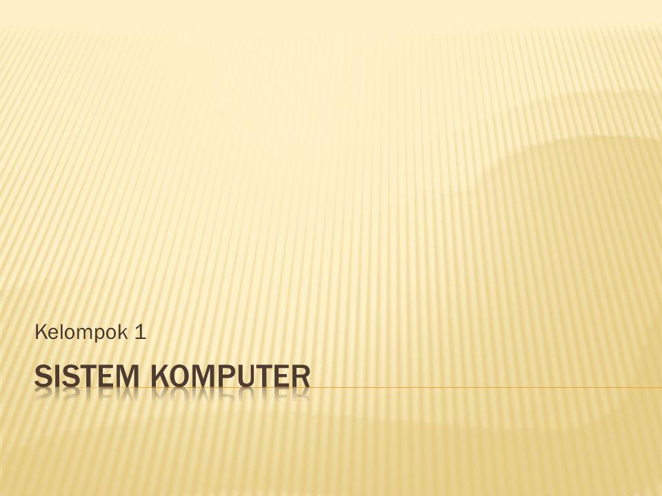 i.Input / Output Card (I / O Card) j. SCII Card k.