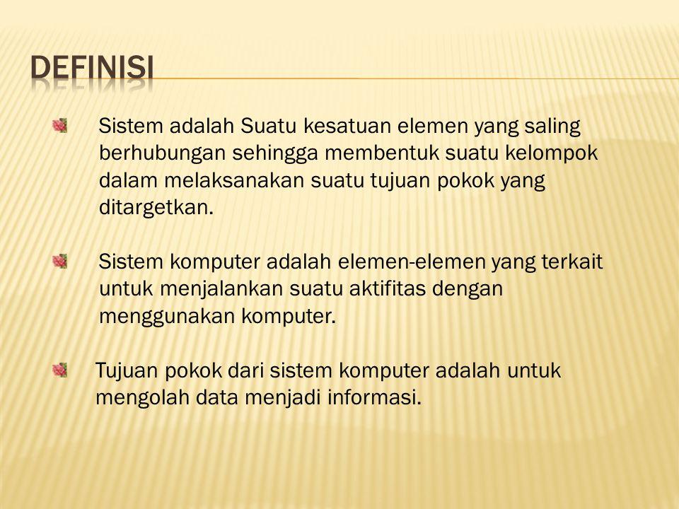 Klasifikasi Komputer dibagi dalam beberapa klasifikasi yaitu berdasarkan : 1.Jenis data yang diolah 2.Kemampuan Komputer 3.Ukuran fisik 4.Bidang Masalah
