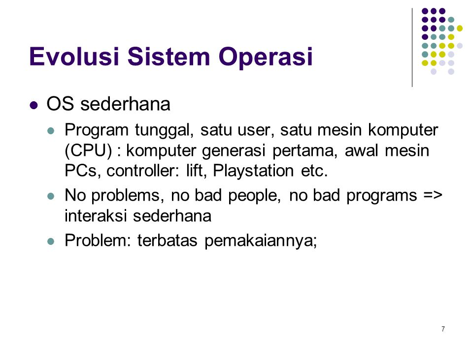 18 Distributed Systems (cont) Manfaat distributed systems.