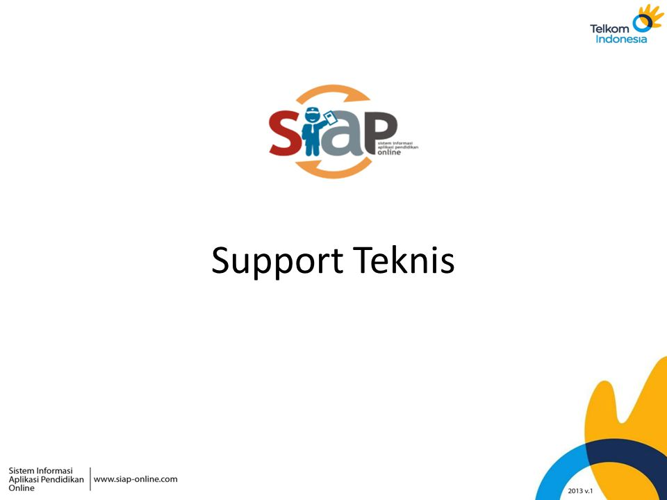 Support Teknis