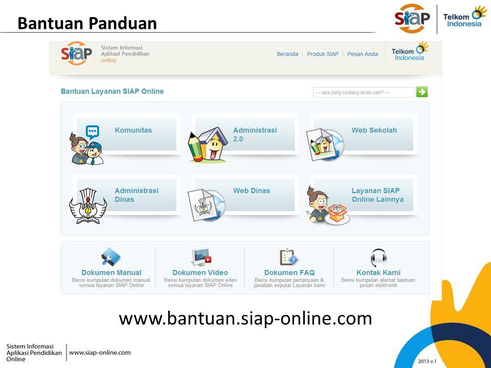 Bantuan Panduan www.bantuan.siap-online.com