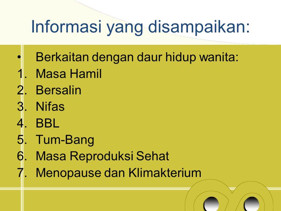 Masalah kesehatan Ibu dan Anak di Indonesia Berdasarkan survei kedokteran pada 2012, angka kematian ibu masih di atas 200 setiap 100 ribu kelahiran.
