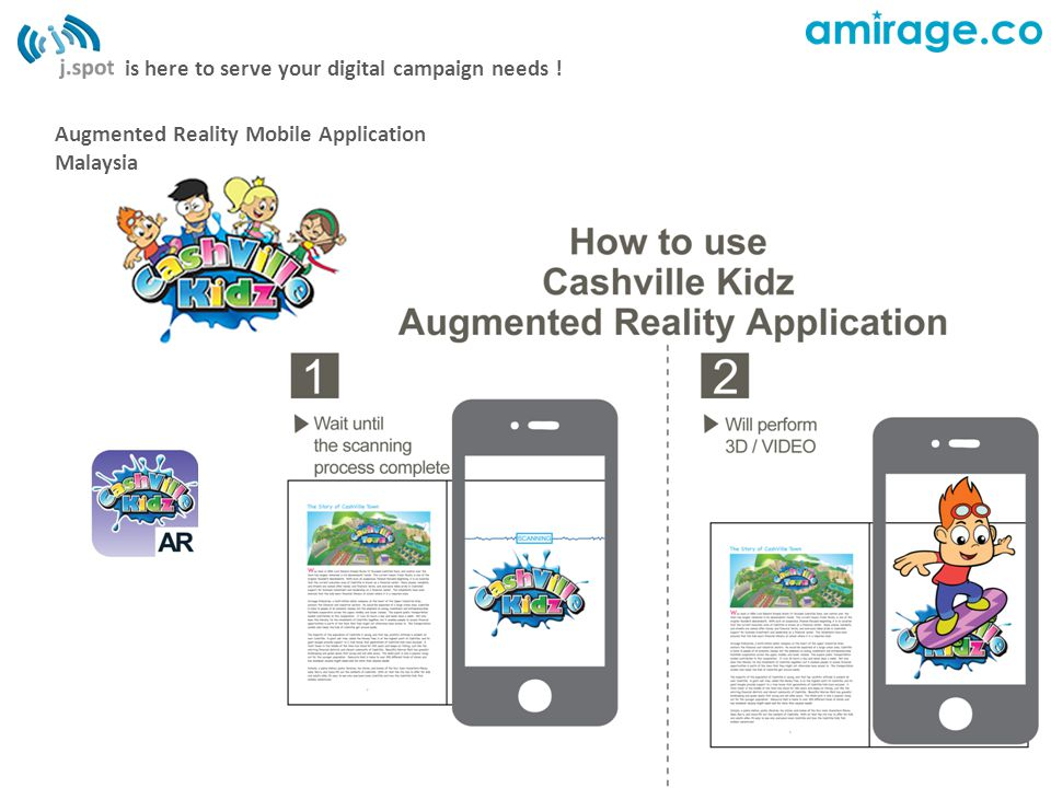 is here to serve your digital campaign needs ! Augmented Reality Mobile Application Malaysia