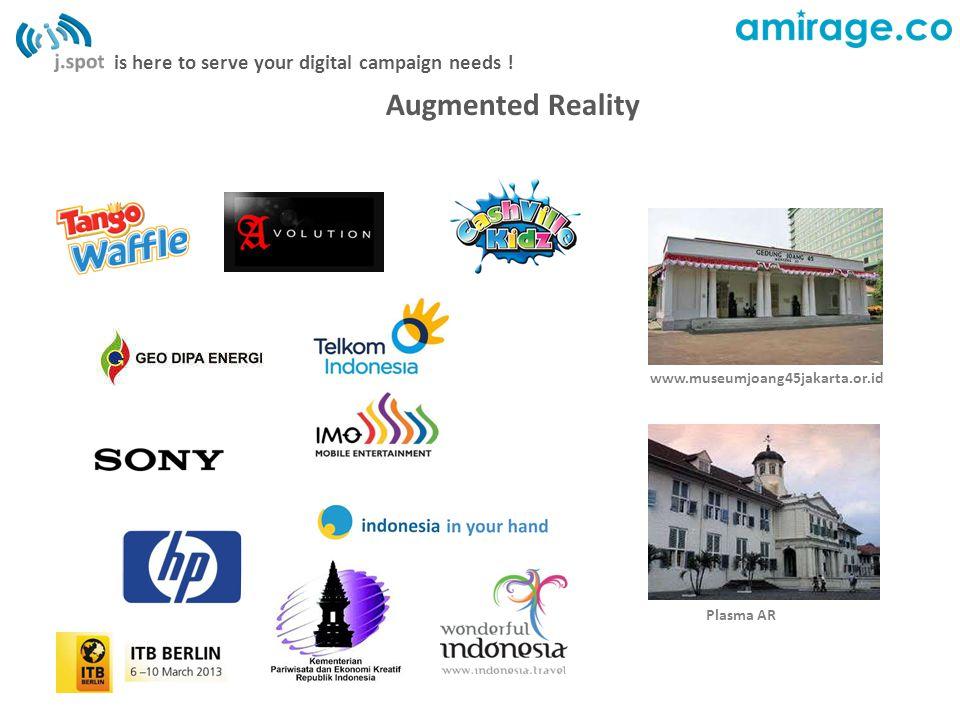 Augmented Reality www.museumjoang45jakarta.or.id Plasma AR