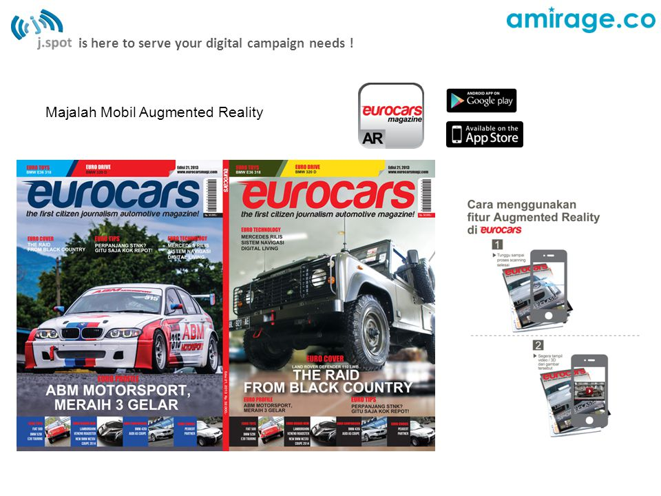 is here to serve your digital campaign needs ! Koran Harian Augmented Reality