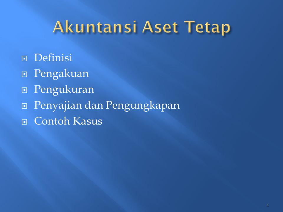 Tanah yang termasuk dalam aset tetap dalam PSAP 07 Paragraf 07 adalah Aset Tetap yang diperoleh dengan maksud untuk dipakai dalam kegiatan operasional pemerintah dan dalam kondisi siap dipakai.