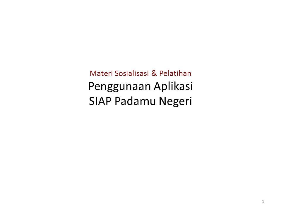 Proses Pemilihan Formulir oleh Aplikasi… 22 Proses pemilihan formulir melalui pertanyaan sederhana…