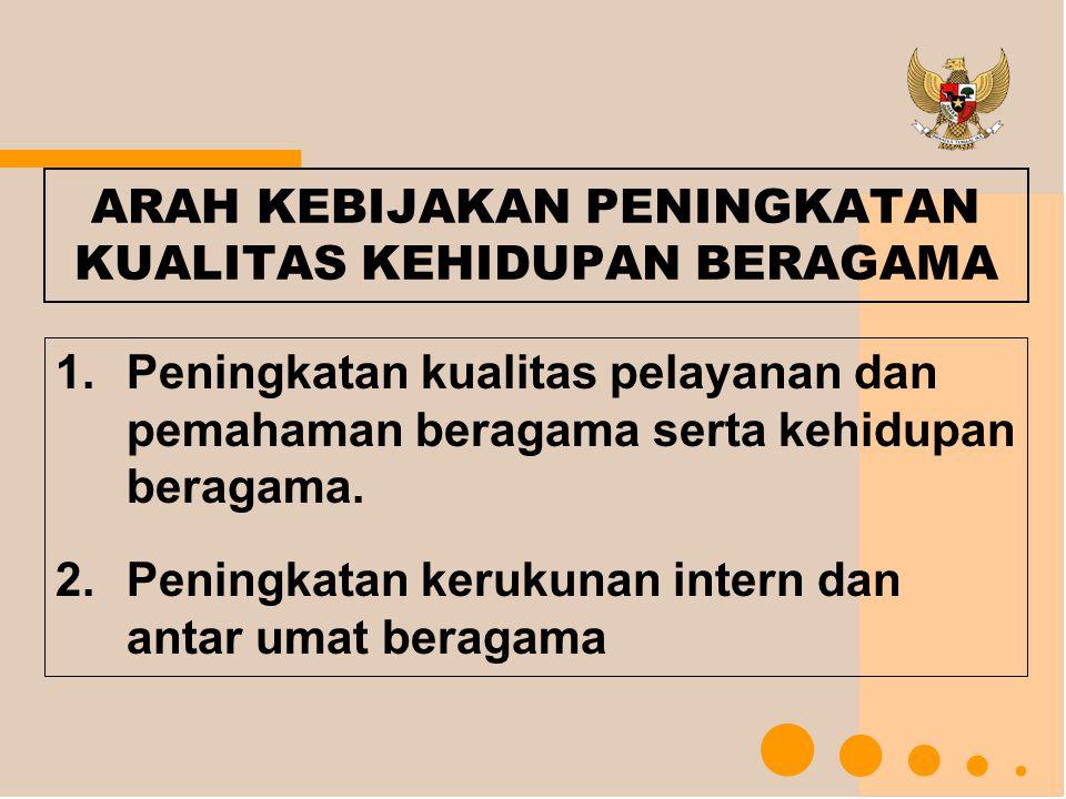 Hasil Rekomendasi Rakornas I FKUB Tahun 2008 1.Peran dan fungsi FKUB perlu dioptimalkan guna menegakkan 4 pilar kebangsaan: Pancasila, UUD '45, Bhinneka Tunggal Ika, dan NKRI.