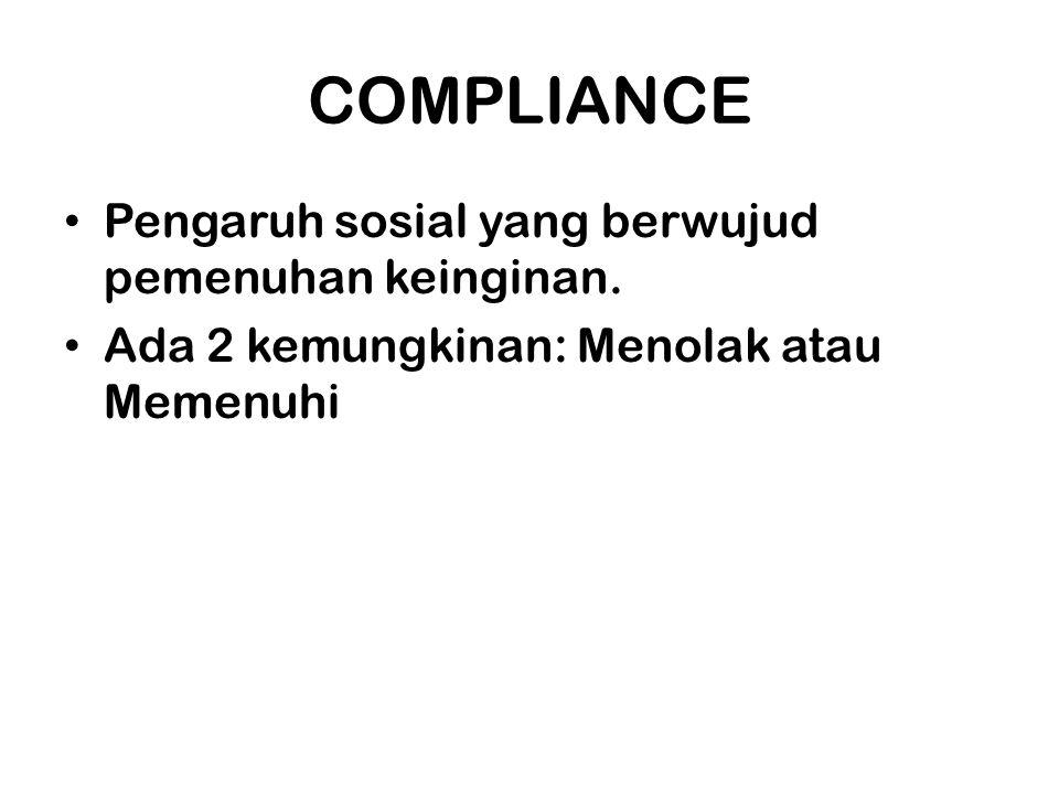 Prinisip Dasar Pertemanan atau rasa suka Komitmen atau konsistensi Kelangkaan Timbal balik Validasi sosial Otoritas