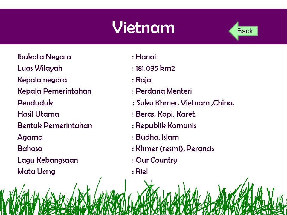 Kamboja Ibukota Negara: Phnom Penh Luas Wilayah: 329.
