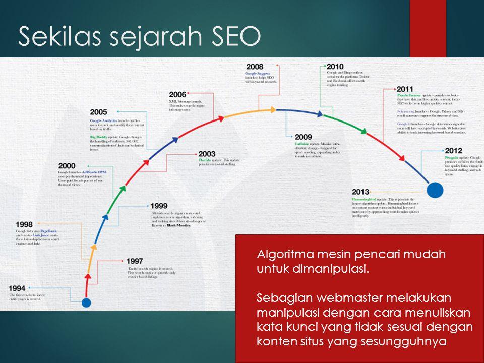 Dasar pengetahuan SEO  On Page SEO teknik mengoptimisasi halaman website dengan menerapkan beberapa dasar keyword yang ditarget kedalamnya.