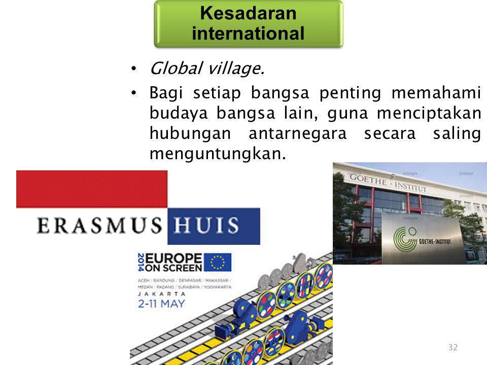 Global village.