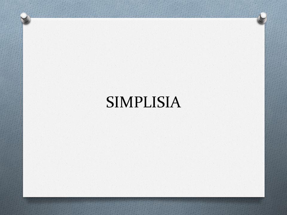 Simplisia O Bahan alamiah yang dipergunakan sebagai obat yang belum mengalami pengolahan apapun juga dan kecuali dikatakan lain, berupa bahan yang telah dikeringkan (MMI) O Jenis simplisia: O Simplisia nabati: simplisia yang berupa tumbuhan utuh, bagian tumbuhan atau eksudat tumbuhan.