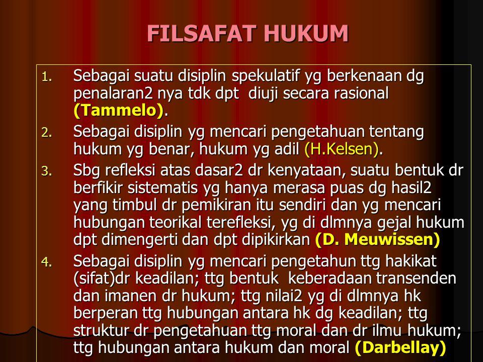 TEORI ILMU HUKUM BERASAL DARI ISTILAH LEGAL THEORY, YURISPRUDENCE, RECHTSTHEORY. (ABAD 19). DIAWALI MINAT FH MENGALAMI KELESUAN KRN TERLALU ABSTRAK &