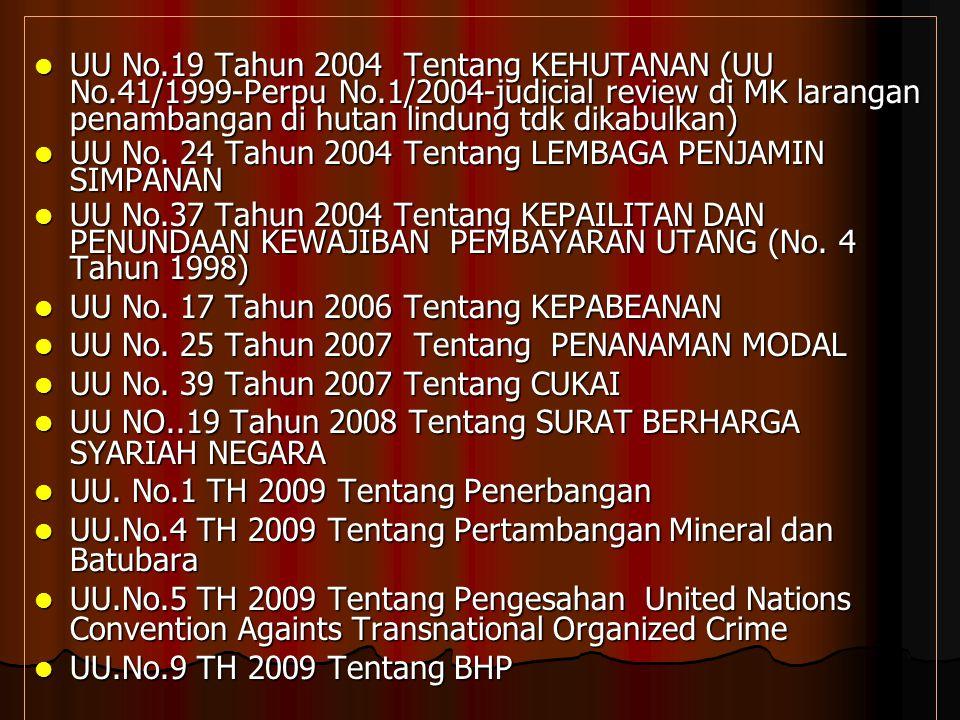 UU No.29 Tahun 2000 Tentang PERLINDUNGAN VARIETAS TANAMAN UU No.29 Tahun 2000 Tentang PERLINDUNGAN VARIETAS TANAMAN UU No. 30 Tahun 2000 Tentang RAHAS