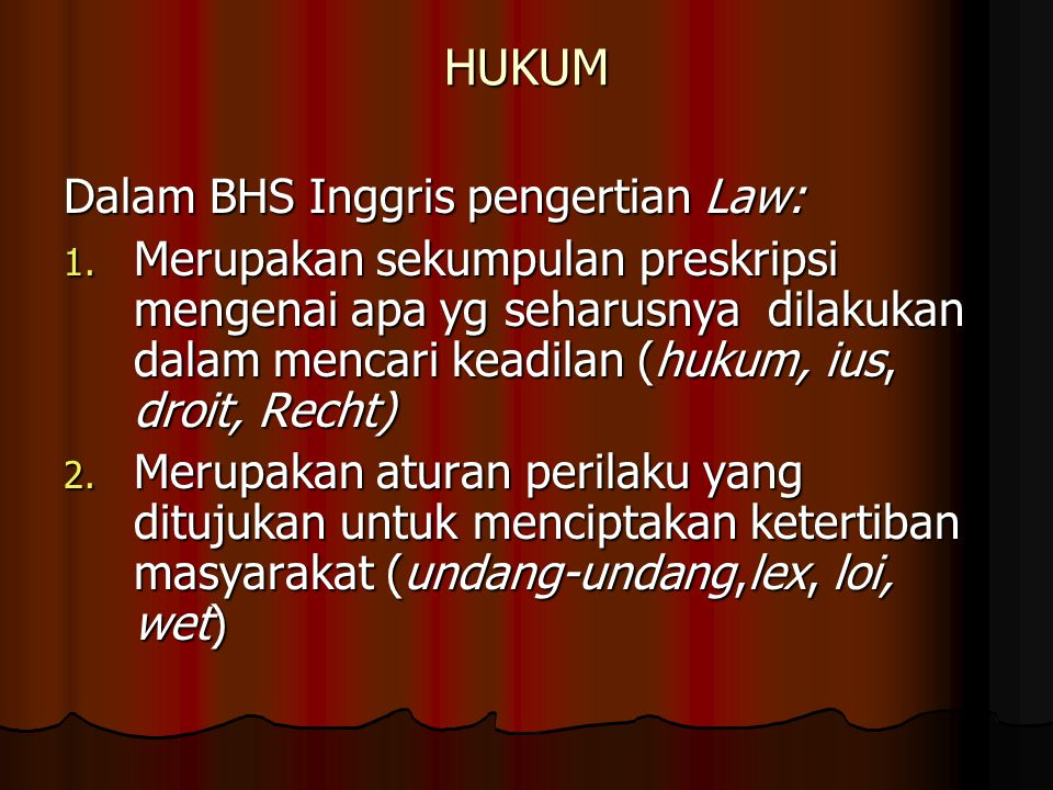 TEORI ILMU HUKUM BERASAL DARI ISTILAH LEGAL THEORY, YURISPRUDENCE, RECHTSTHEORY.