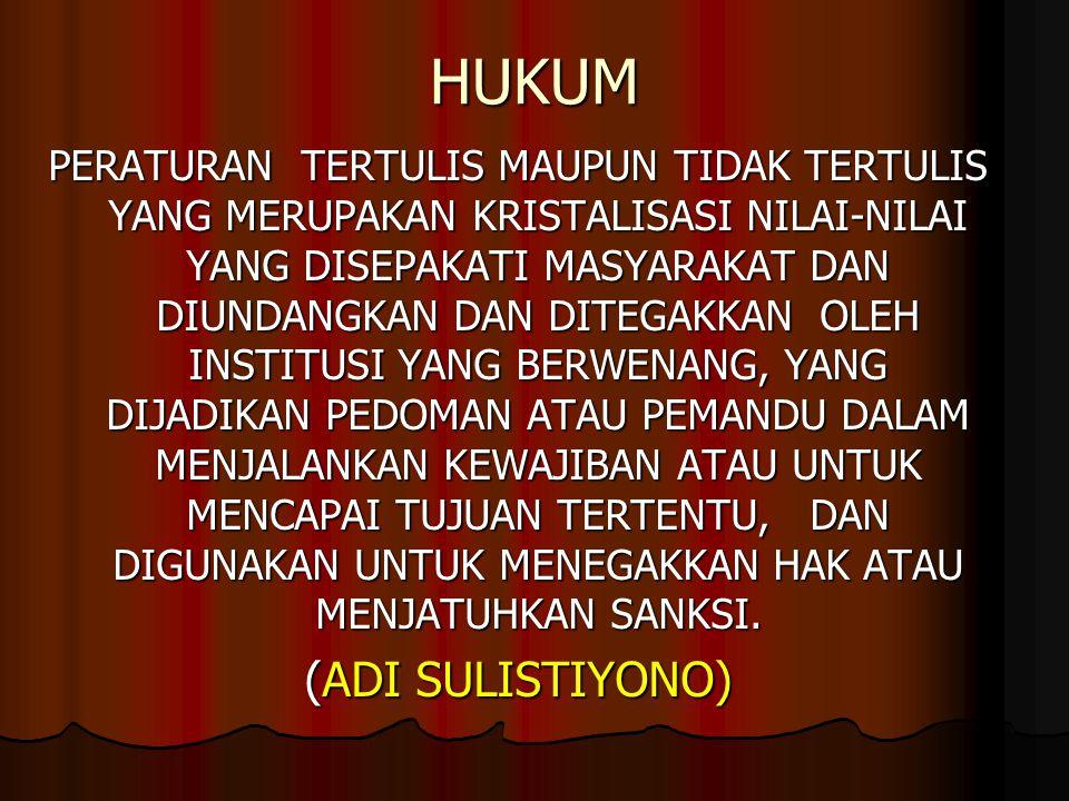 FILSAFAT HUKUM 1.
