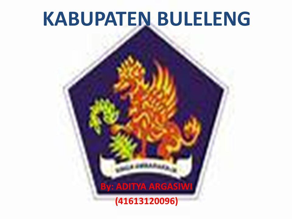 LETAK GEOGRAFIS Kabupaten Buleleng terletak di belahan utara Pulau Bali memanjang dari barat ke timur dan mempunyai pantai sepanjang 144 Km, secara geografis terletak pada posisi 8° 03 40 - 8° 23 00 lintang selatan dan 114° 25 55 - 115° 27 28 bujur timur.