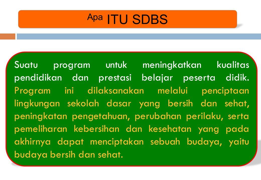 Apa ITU SDBS Suatu program untuk meningkatkan kualitas pendidikan dan prestasi belajar peserta didik. Program ini dilaksanakan melalui penciptaan ling