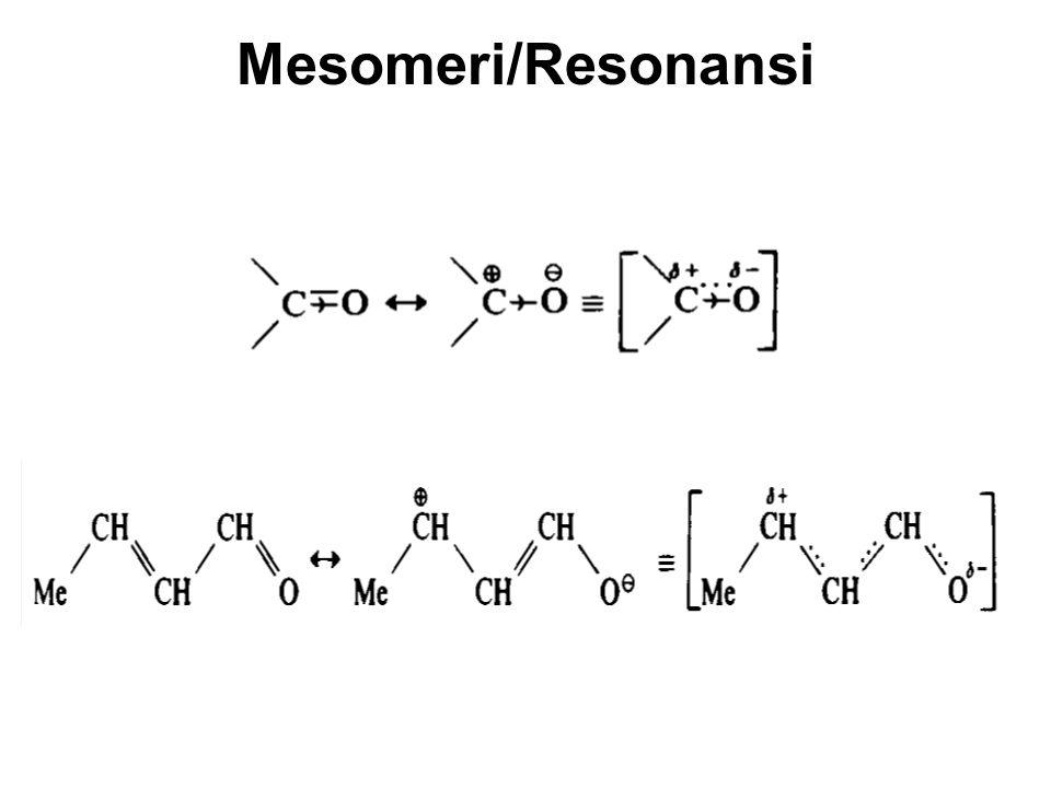 Asam karboksilat tersubstitusi Induksi negatif oleh gugus penarik elektron akan menambah sifaf asam