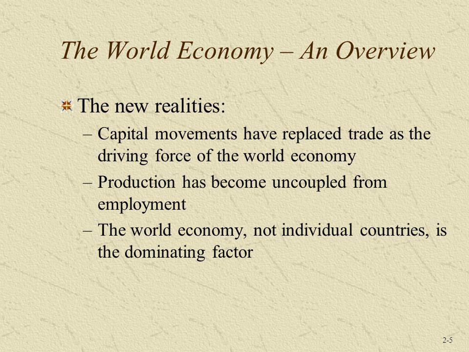 2-16 Reformasi pasar dan kapitalisme baru lahir di berbagai belahan dunia dengan menciptakan peluang untuk investasi dalam skala besar oleh perusahaan-perusahaan global.