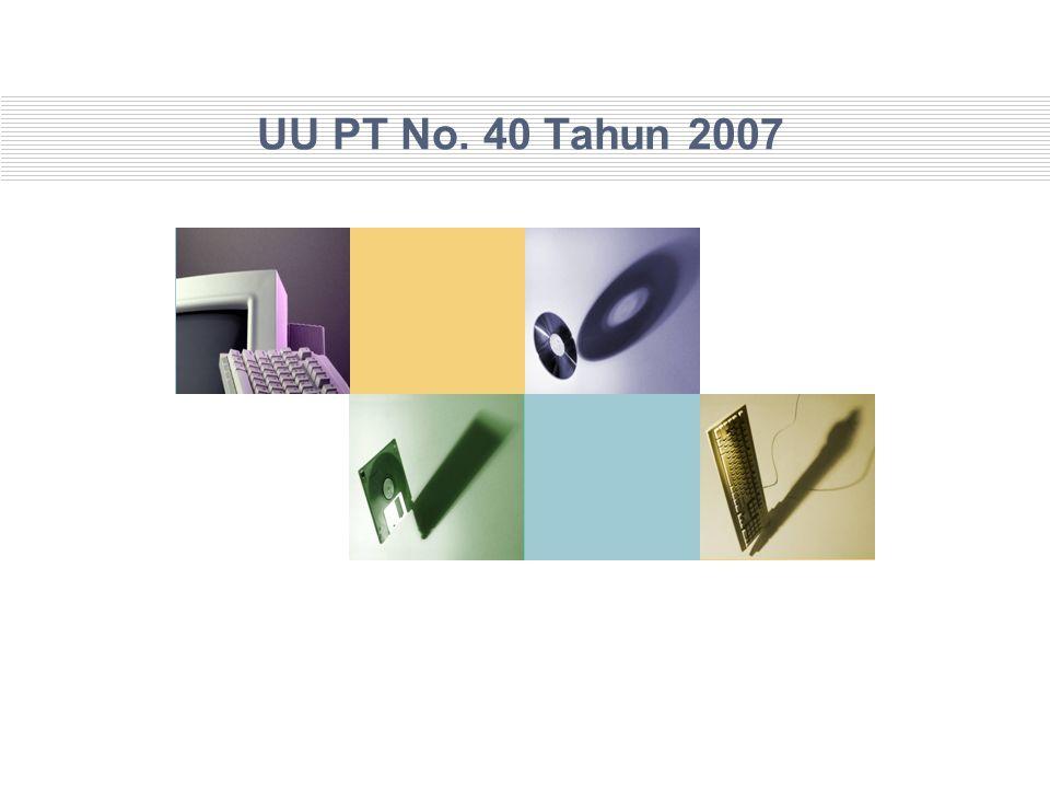 UU PT No. 40 Tahun 2007