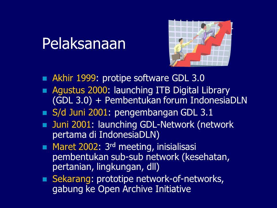 Tujuan Mengembangkan software Open-Source (GDL, Ganesha Digital Library) berbasis regional technology; Membangun jaringan dan komunitas Knowledge Shar