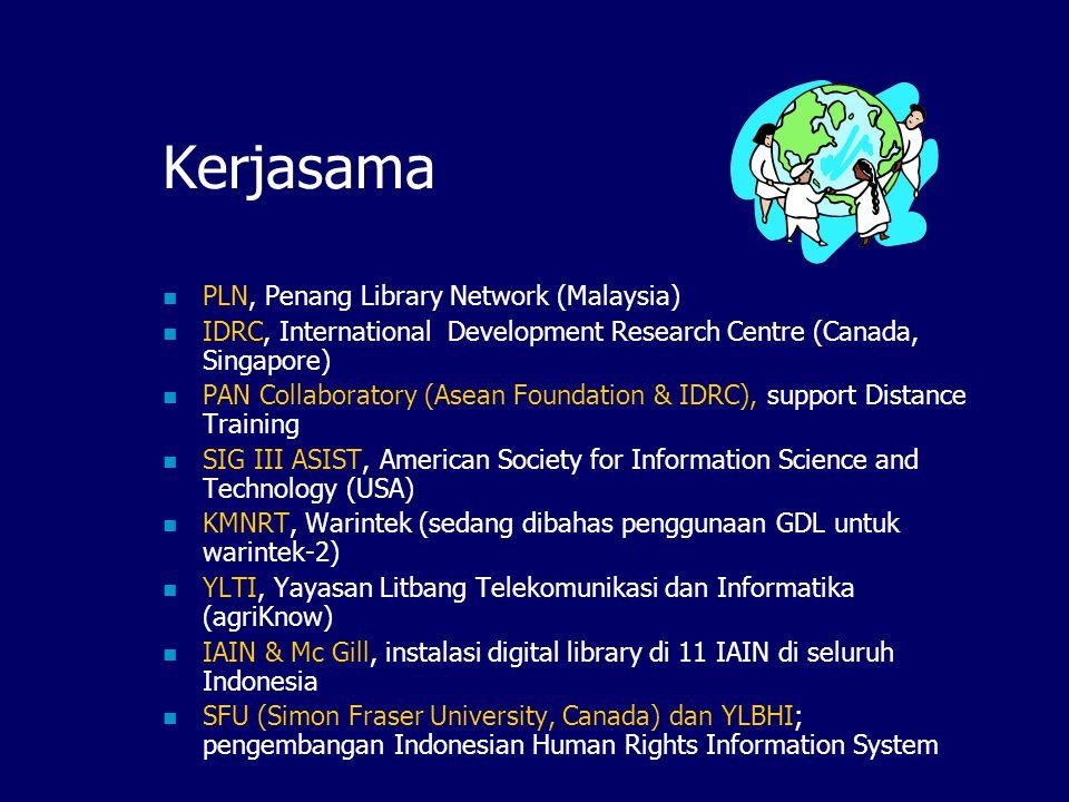 Sosialisasi Website, mailing list, brosur, CD-ROM; Pameran, seminar & meeting tahunan; Penulisan artikel majalah (InfoLinux, Infokomputer), wawancara