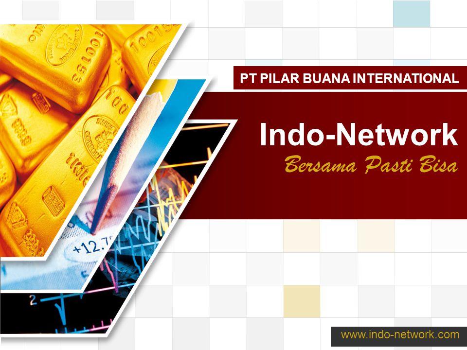 LOGO www.themegallery.com Indo-Network Bersama Pasti Bisa www.indo-network.com PT PILAR BUANA INTERNATIONAL
