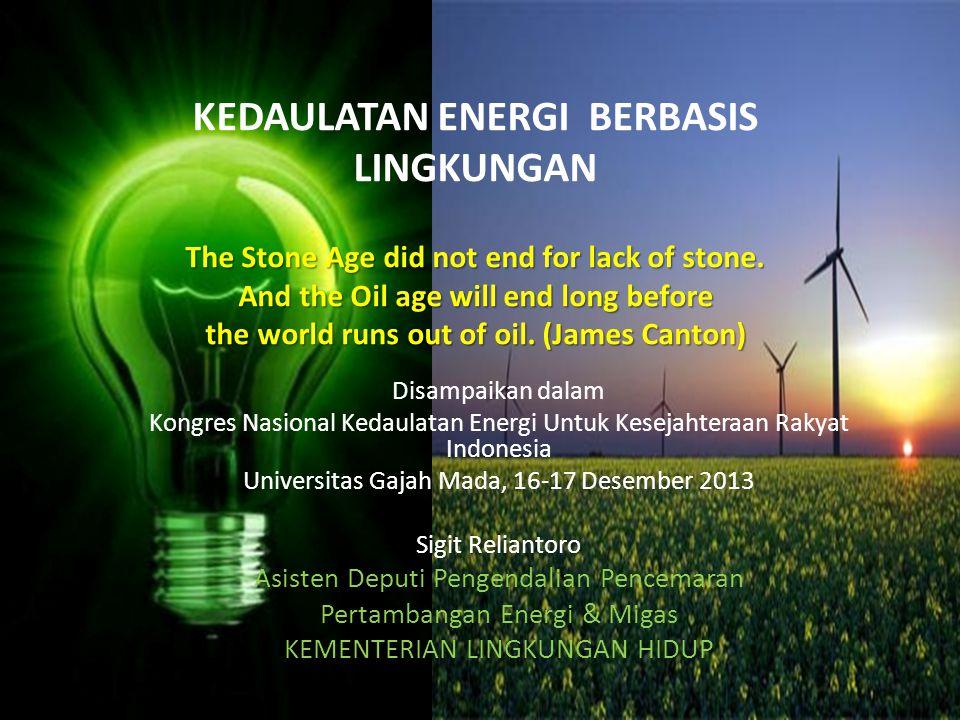 KRITERIA SISTEM ENERGI YANG BERKELANJUTAN Mark Jaccard (2005) mengemukakan kriteria Energy System Sustainability adalah : 1.Sistem energi harus dapat bertahan (tidak pernah habis) dalam hal jenis dan ketersediaannya.