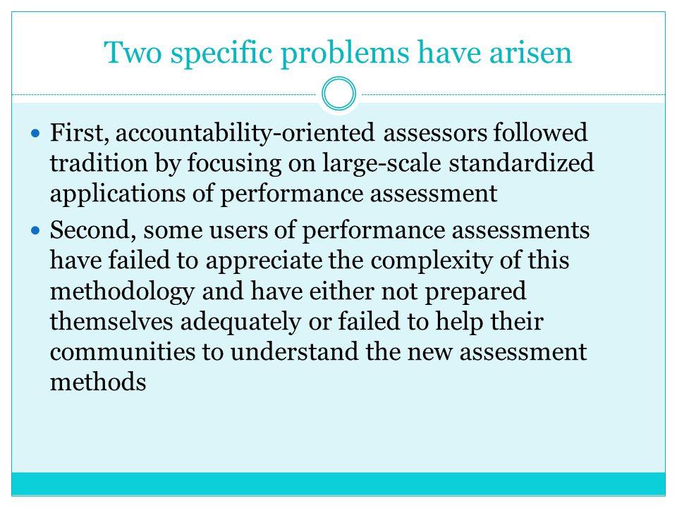 (4) Dalam kasus yang lain, beberapa performance applikasi penilaian secara sistematik telah diuji dari perspektif teknis dan perspektif hasil.