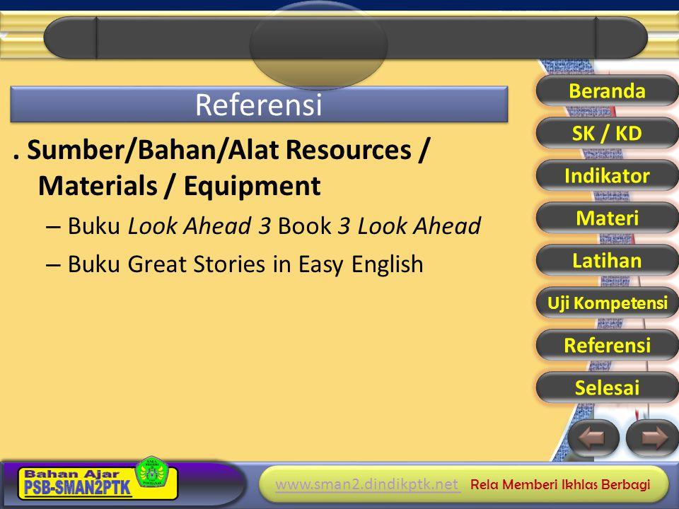 www.sman2.dindikptk.net www.sman2.dindikptk.net Rela Memberi Ikhlas Berbagi www.sman2.dindikptk.net www.sman2.dindikptk.net Rela Memberi Ikhlas Berbagi Referensi.