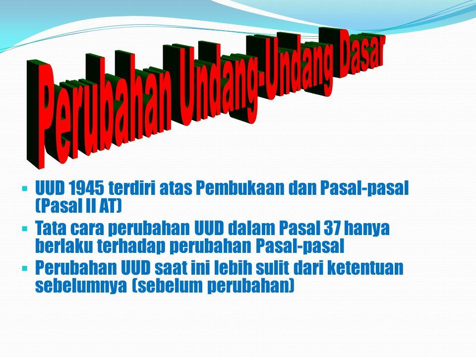  Sebagai bagian dari hak konstitusional, maka hak asasi itu menjadi bagian dari hukum fundamental, yaitu konstitusi (tertulis, UUD 1945), yang mengikat seluruh cabang kekuasaan negara