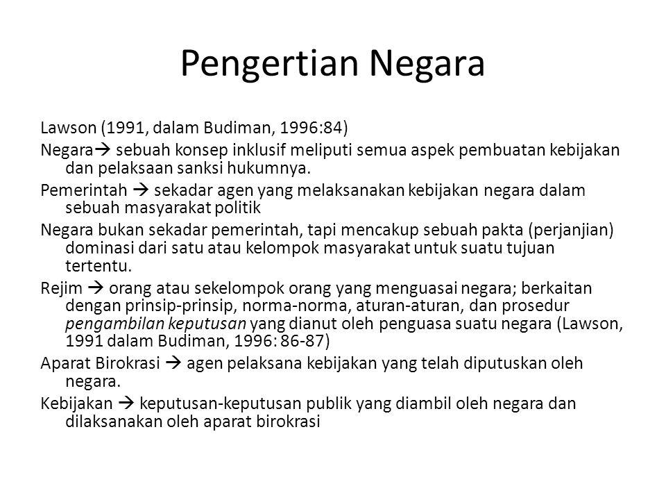 TEORI TENGGELAM/ HILANGNYA NEGARA TEORI