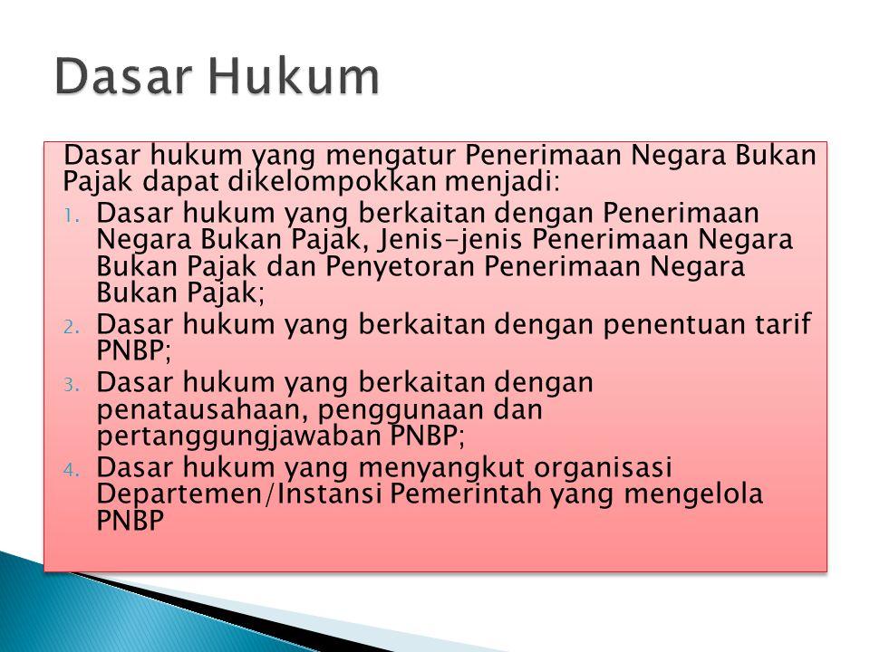  Jenis PNBP yang penentuan jumlahnya dilakukan dengan cara dihitung sendiri oleh wajib bayar ditetapkan oleh Peraturan Pemerintah.