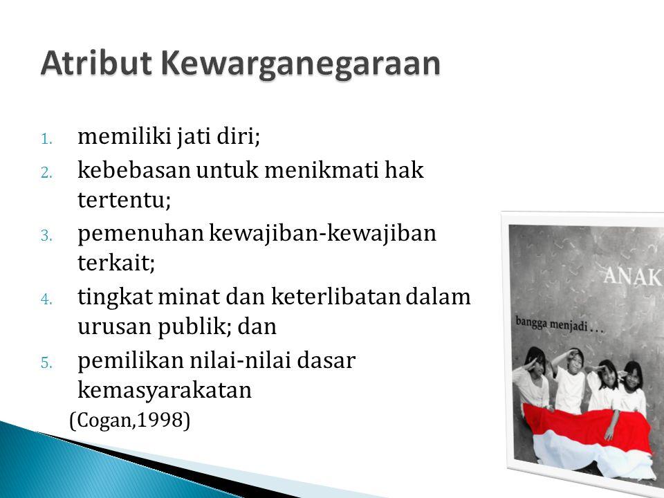  Warga Negara Indonesia adalah orang-orang bangsa Indonesia asli dan orang-orang bangsa lain yang disahkan dengan undang-undang sebagai warga negara.