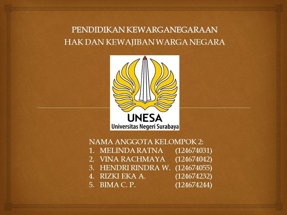  Menurut Kamus Besar Bahasa Indonesia  HAK berarti milik ; kekuasaan berbuat sesuatu ; atau kekuasaan yang benar atas sesuatu.