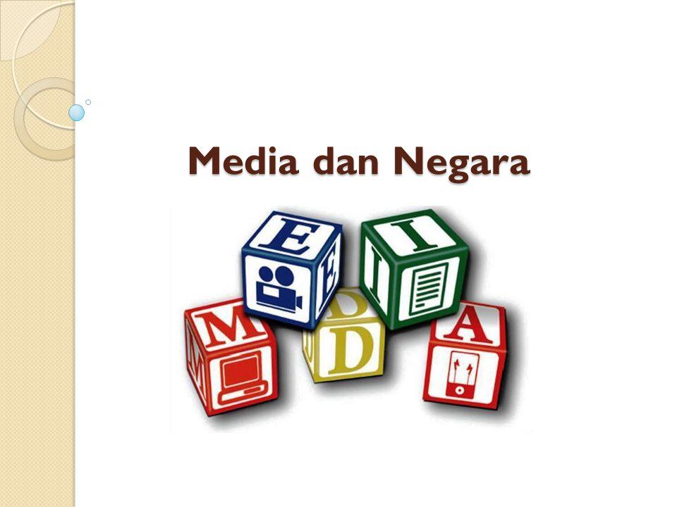 Media dan Negara